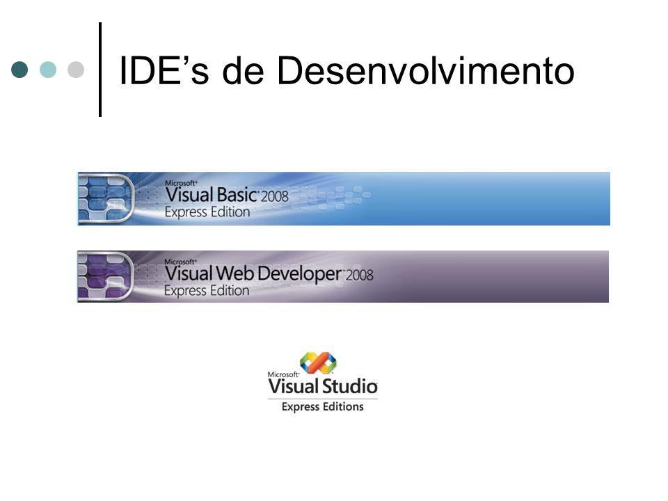 IDE's de Desenvolvimento