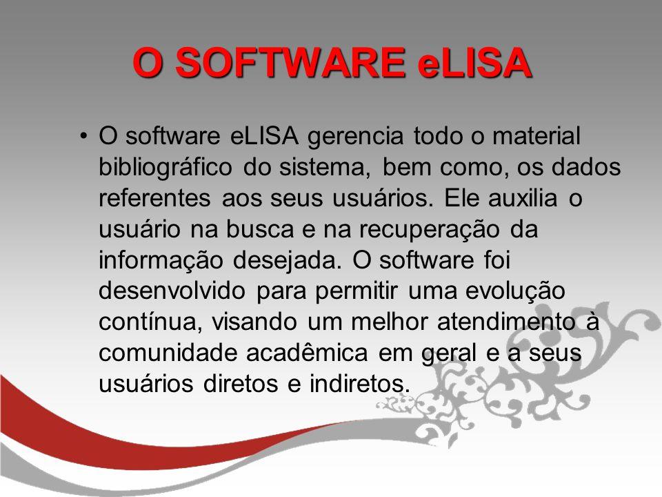 O SOFTWARE eLISA