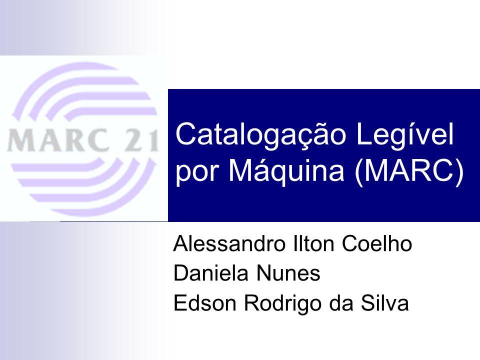 Catalogação Legível por Máquina (MARC)