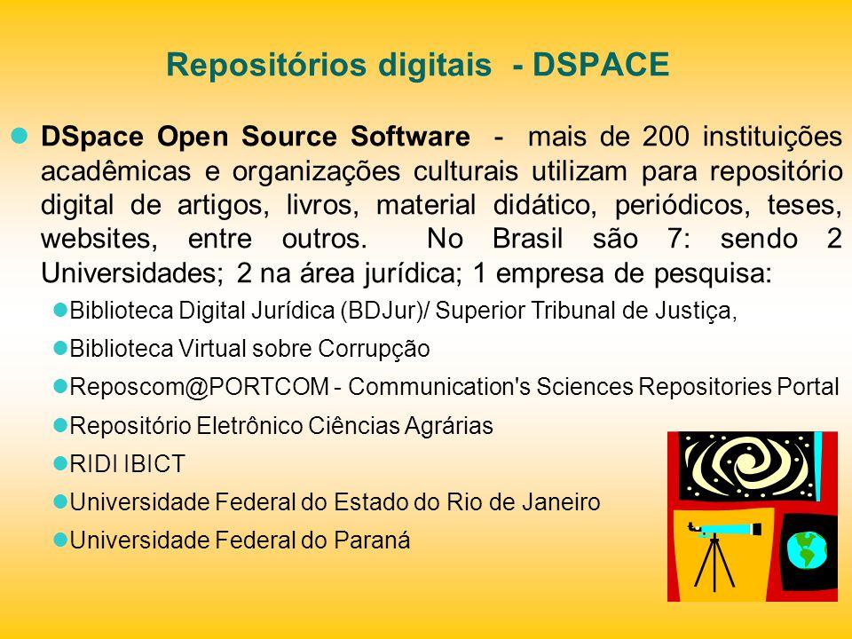 Repositórios digitais - DSPACE