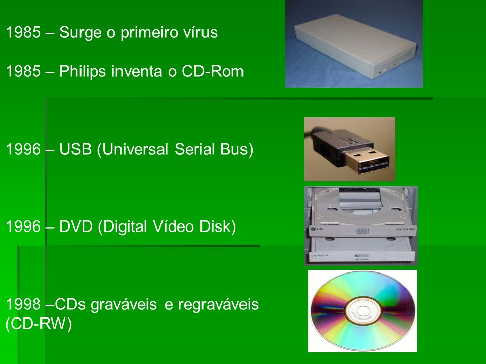 1985 – Surge o primeiro vírus
