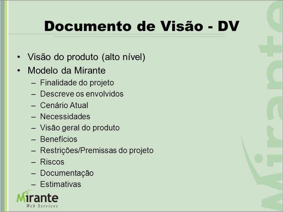 Documento de Visão - DV Visão do produto (alto nível)