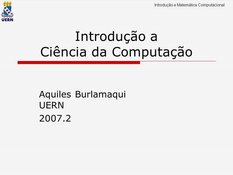 Introdução a Ciência da Computação