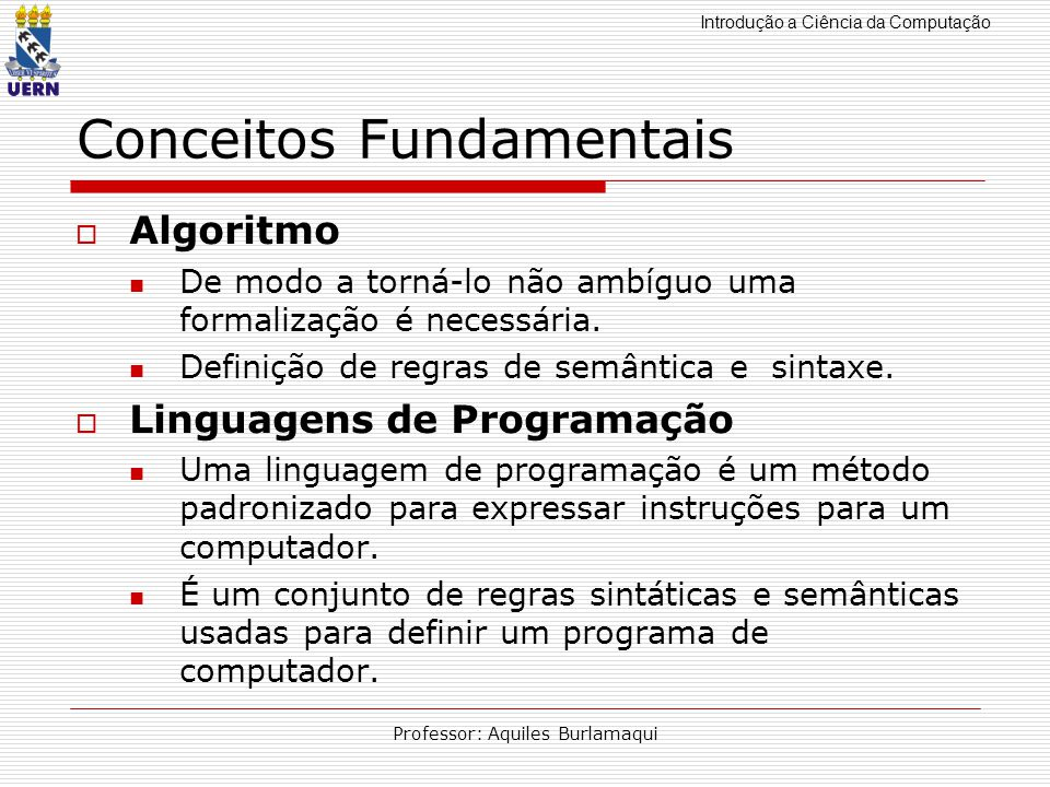 Conceitos Fundamentais