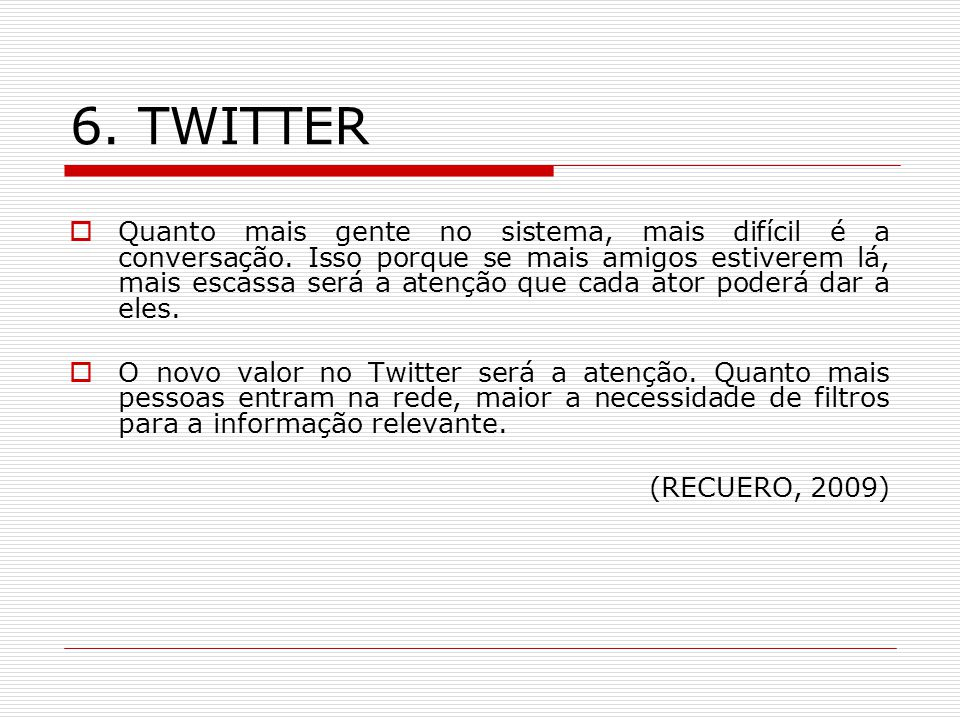 6. TWITTER
