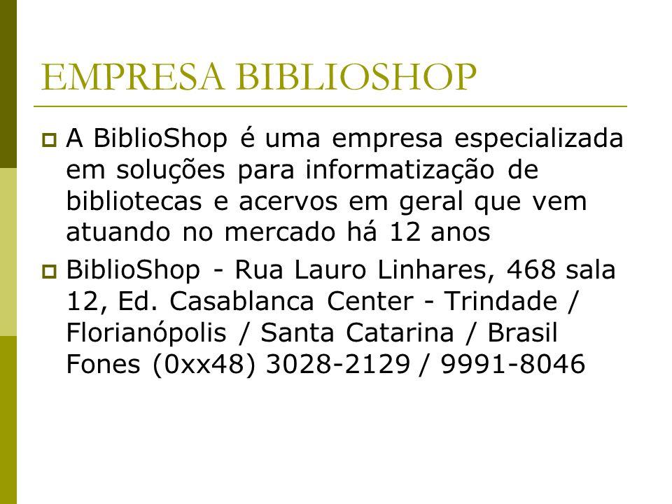 EMPRESA BIBLIOSHOP