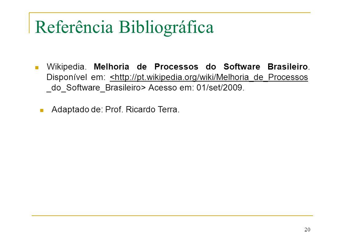 Referência Bibliográfica