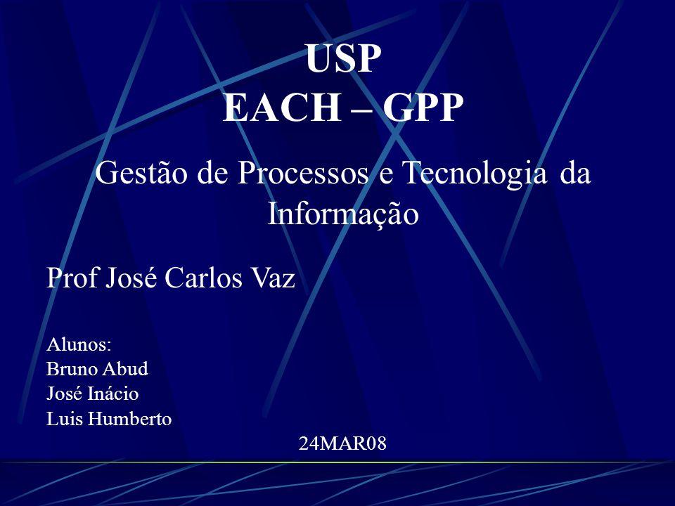 Gestão de Processos e Tecnologia da Informação