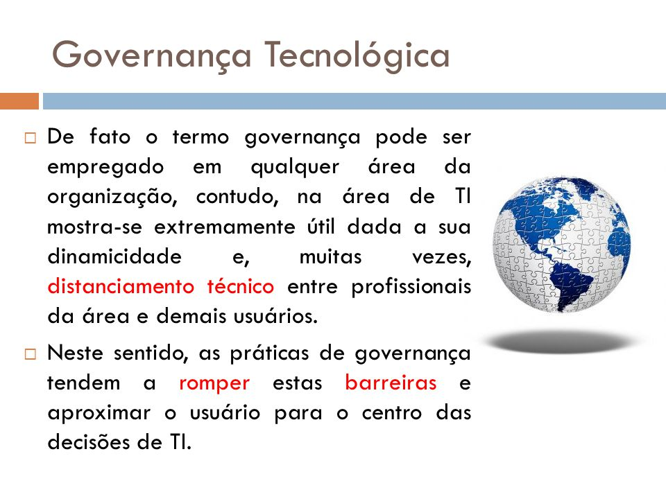 Governança Tecnológica