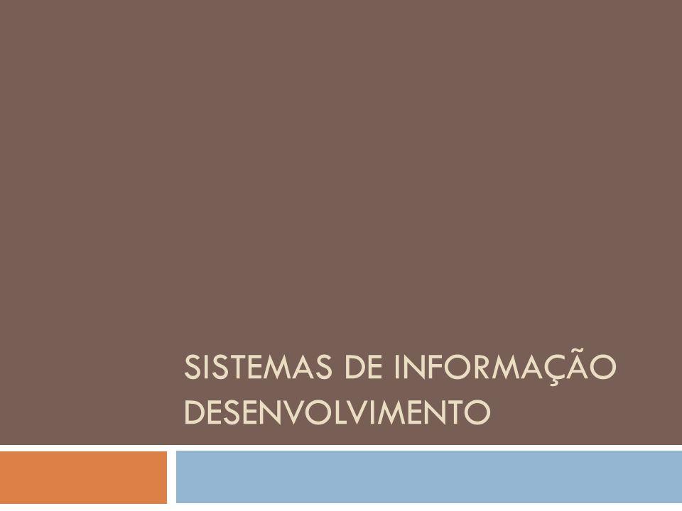 Sistemas de Informação Desenvolvimento