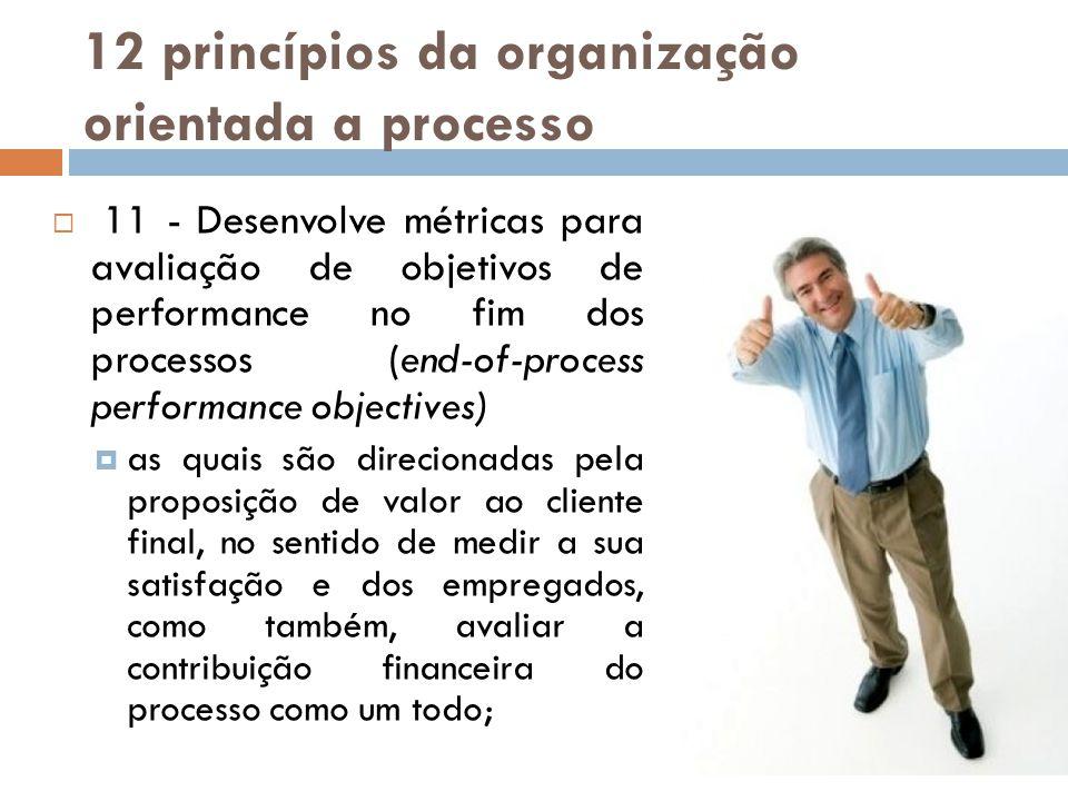 12 princípios da organização orientada a processo