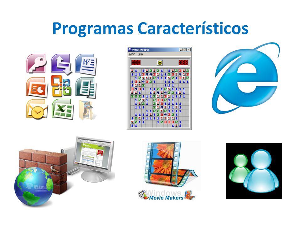 Programas Característicos