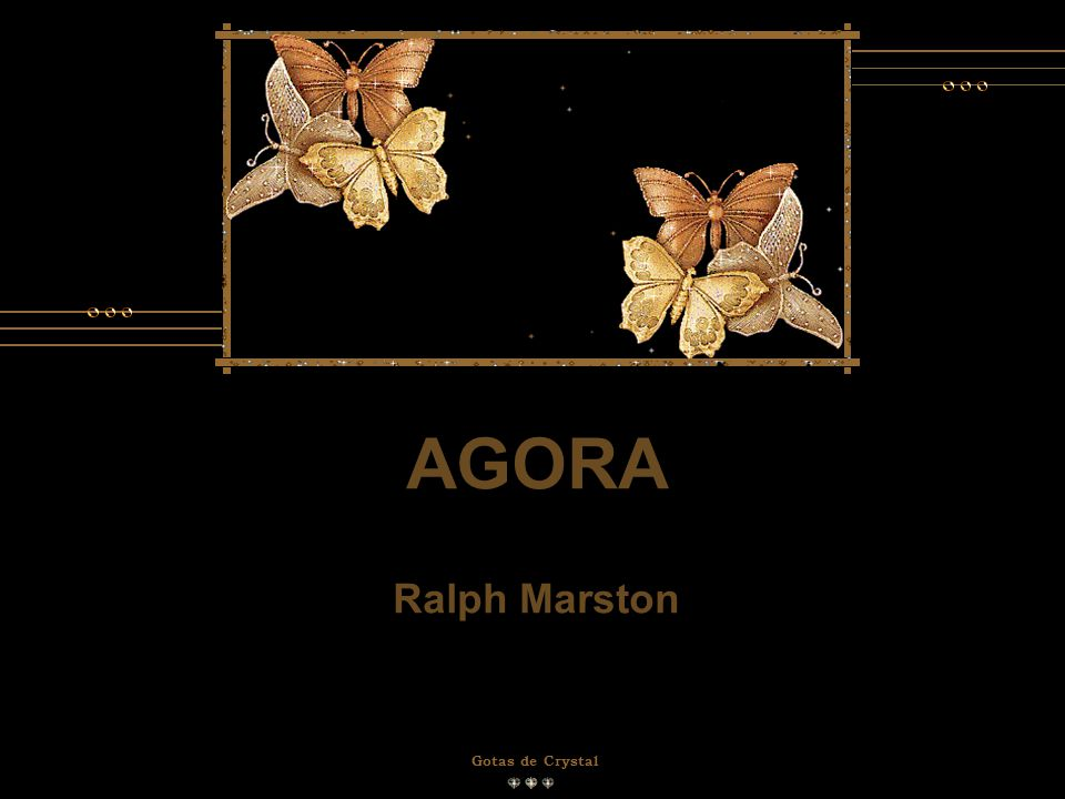 AGORA Ralph Marston Gotas de Crystal