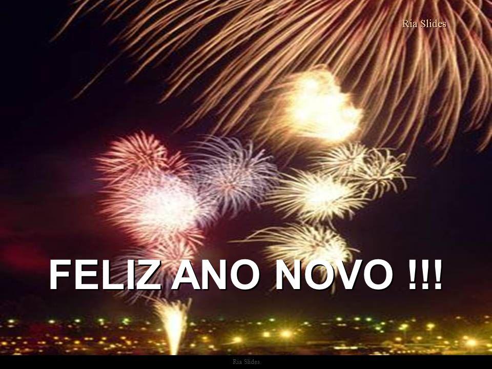 FELIZ ANO NOVO !!! Ria Slides
