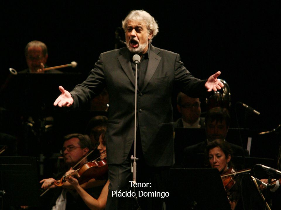 Tenor: Plácido Domingo