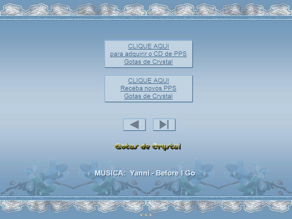 MUSICA: Yanni - Before I Go