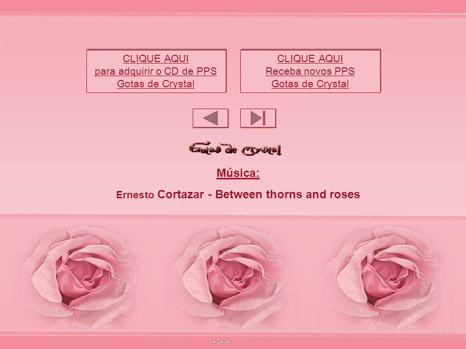 Ernesto Cortazar - Between thorns and roses