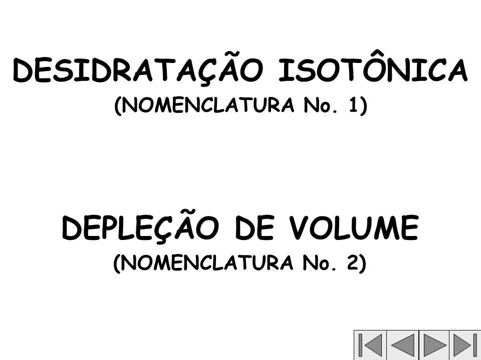 DESIDRATAÇÃO ISOTÔNICA