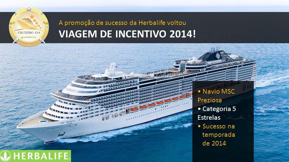 VIAGEM DE INCENTIVO 2014! A promoção de sucesso da Herbalife voltou