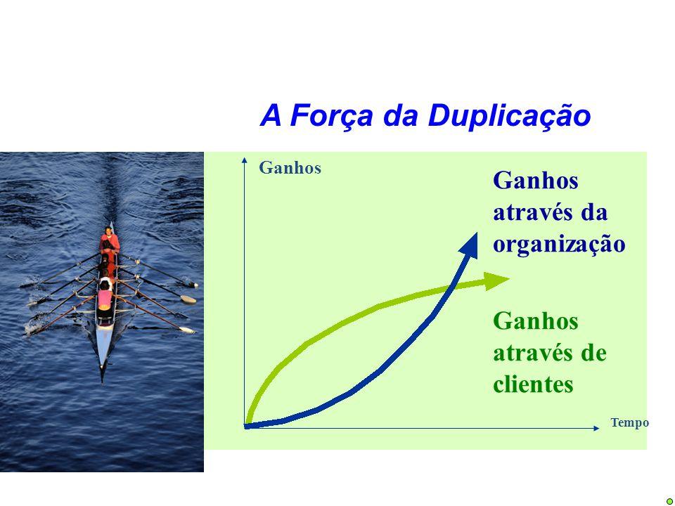 A Força da Duplicação Ganhos através da organização