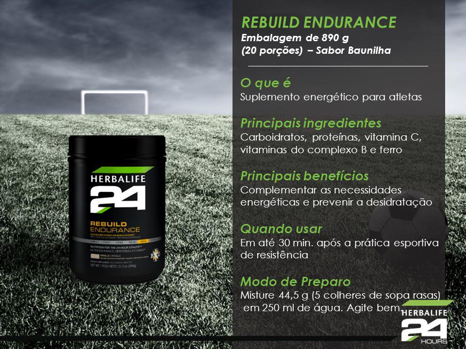 REBUILD ENDURANCE O que é Suplemento energético para atletas