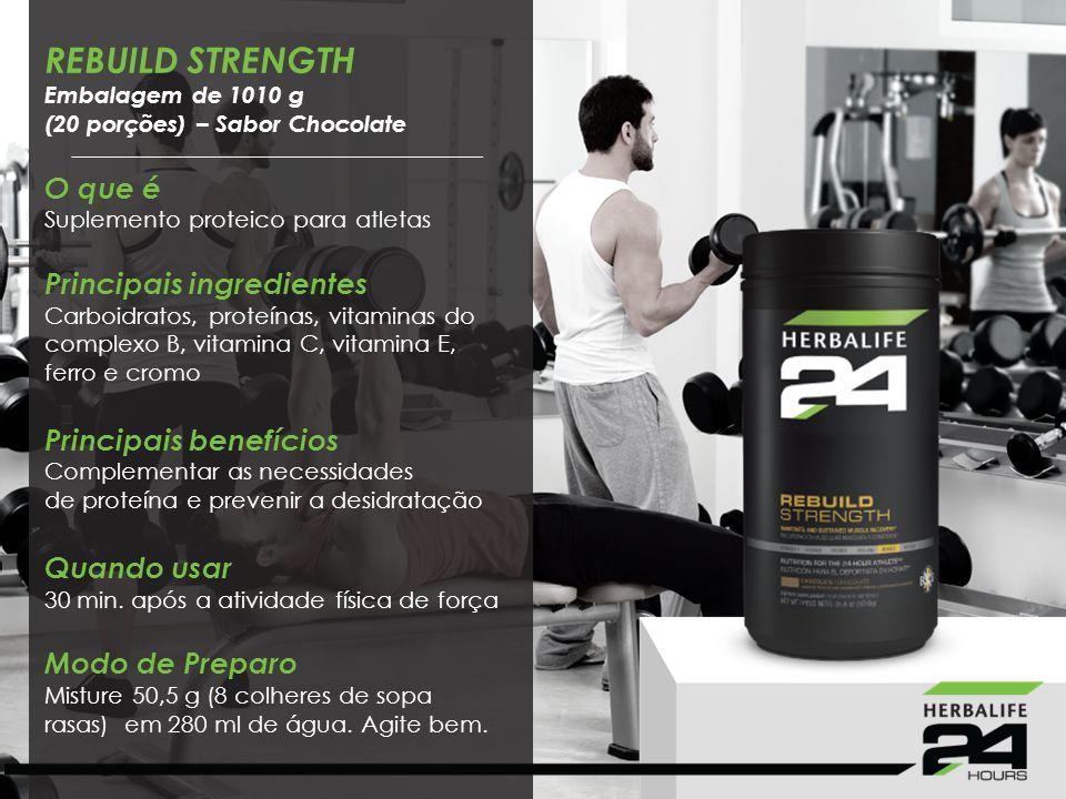 REBUILD STRENGTH O que é Suplemento proteico para atletas