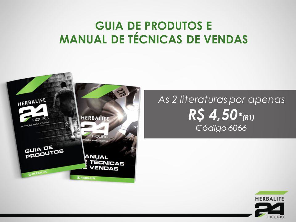 GUIA DE PRODUTOS E MANUAL DE TÉCNICAS DE VENDAS