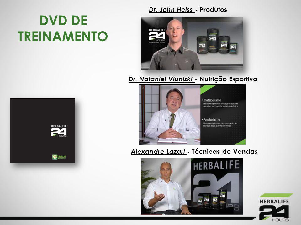 DVD DE TREINAMENTO Dr. John Heiss - Produtos