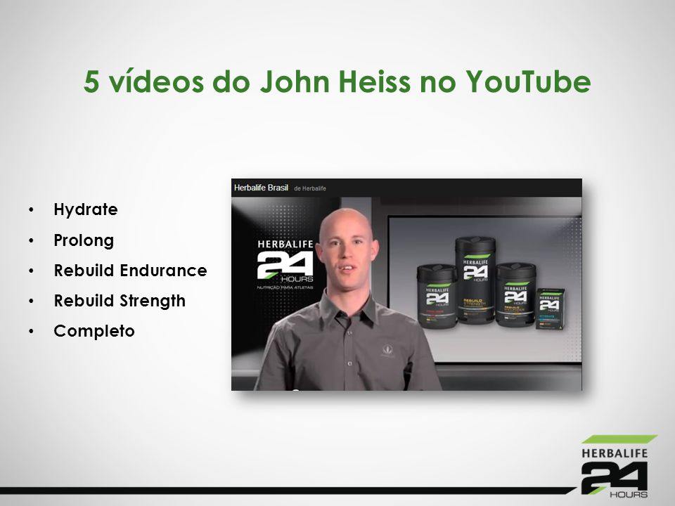 5 vídeos do John Heiss no YouTube