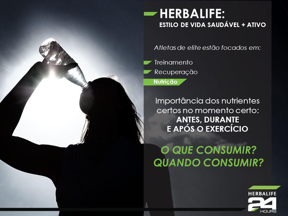 HERBALIFE: ESTILO DE VIDA SAUDÁVEL + ATIVO