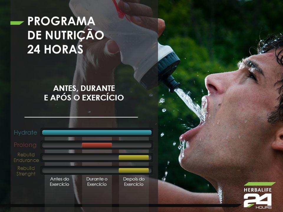 PROGRAMA DE NUTRIÇÃO 24 HORAS ANTES, DURANTE E APÓS O EXERCÍCIO