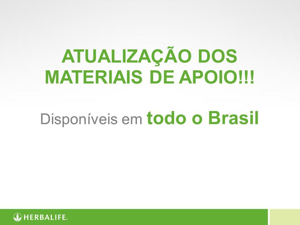 ATUALIZAÇÃO DOS MATERIAIS DE APOIO!!!
