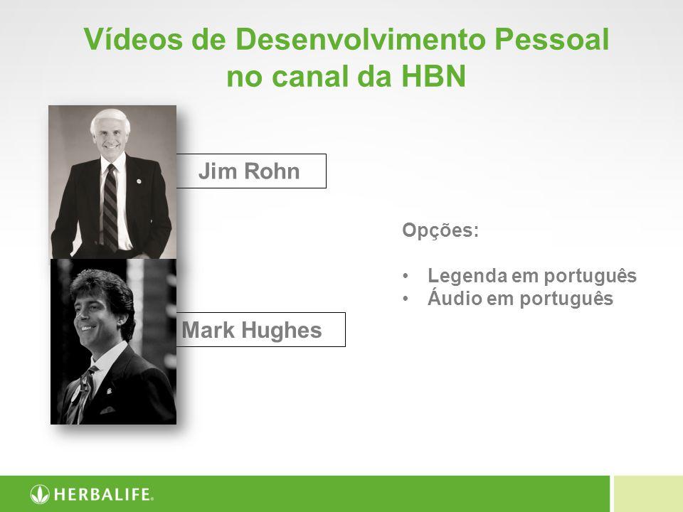 Vídeos de Desenvolvimento Pessoal no canal da HBN