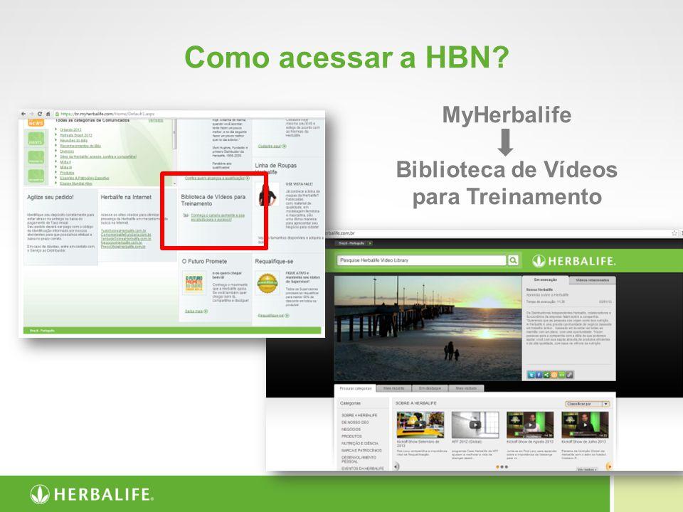 MyHerbalife Biblioteca de Vídeos para Treinamento
