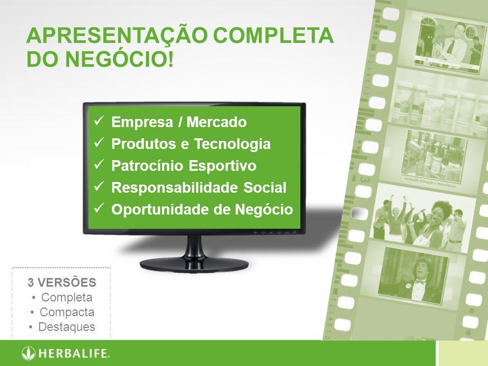 APRESENTAÇÃO COMPLETA DO NEGÓCIO!
