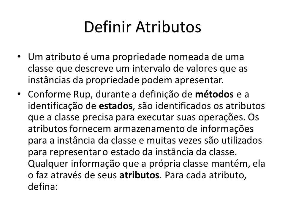 Definir Atributos