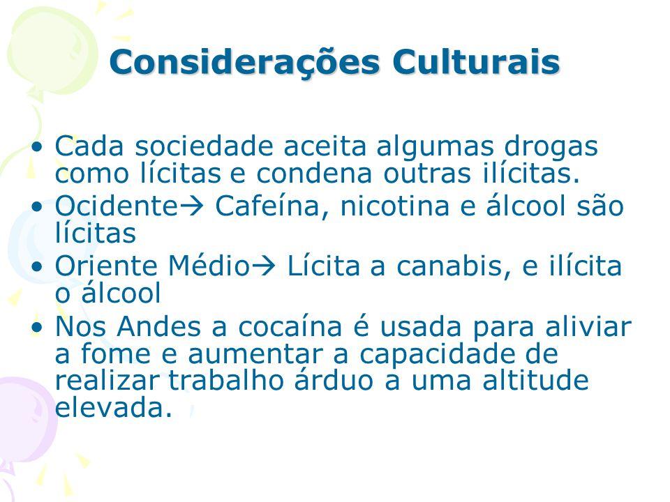 Considerações Culturais