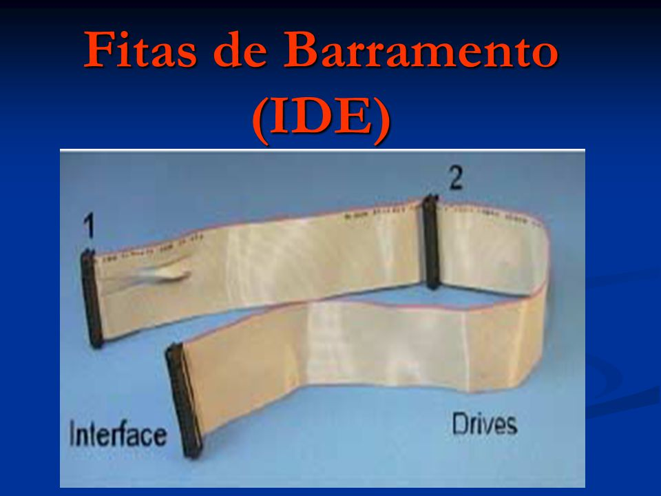 Fitas de Barramento (IDE)