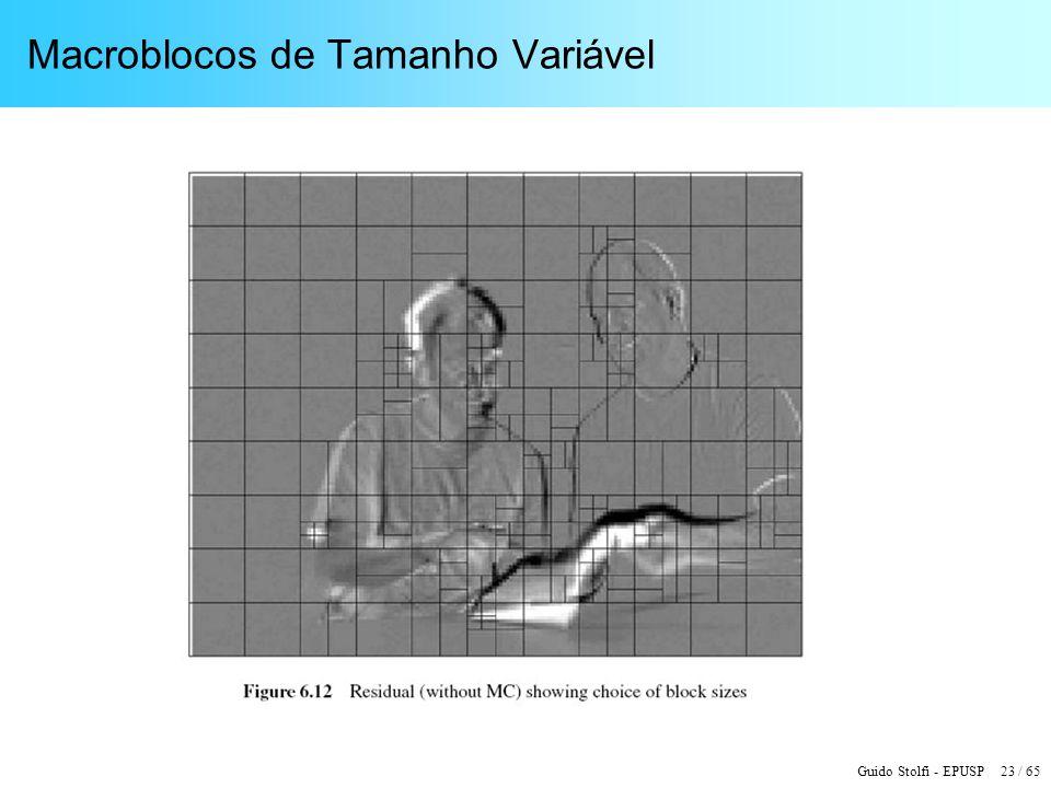 Macroblocos de Tamanho Variável