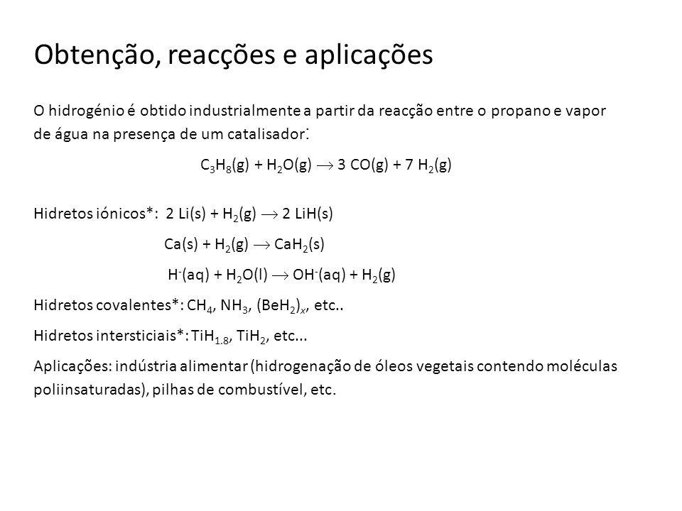 C3H8(g) + H2O(g)  3 CO(g) + 7 H2(g)