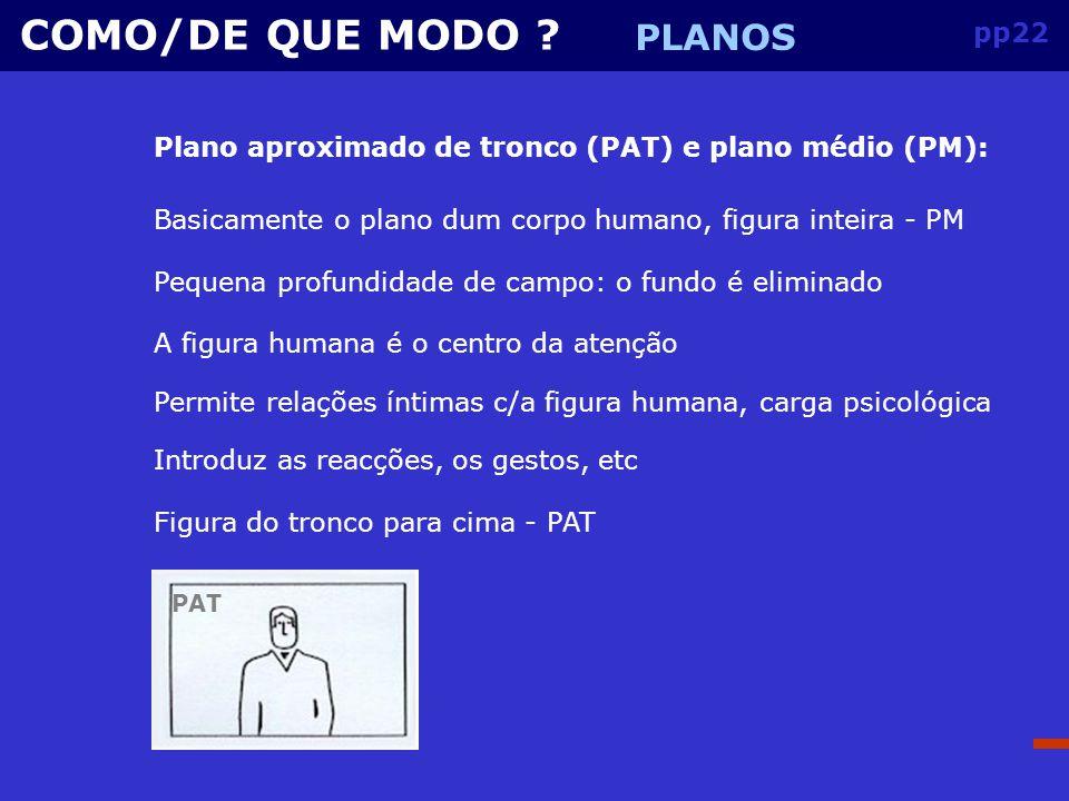 COMO/DE QUE MODO PLANOS pp22