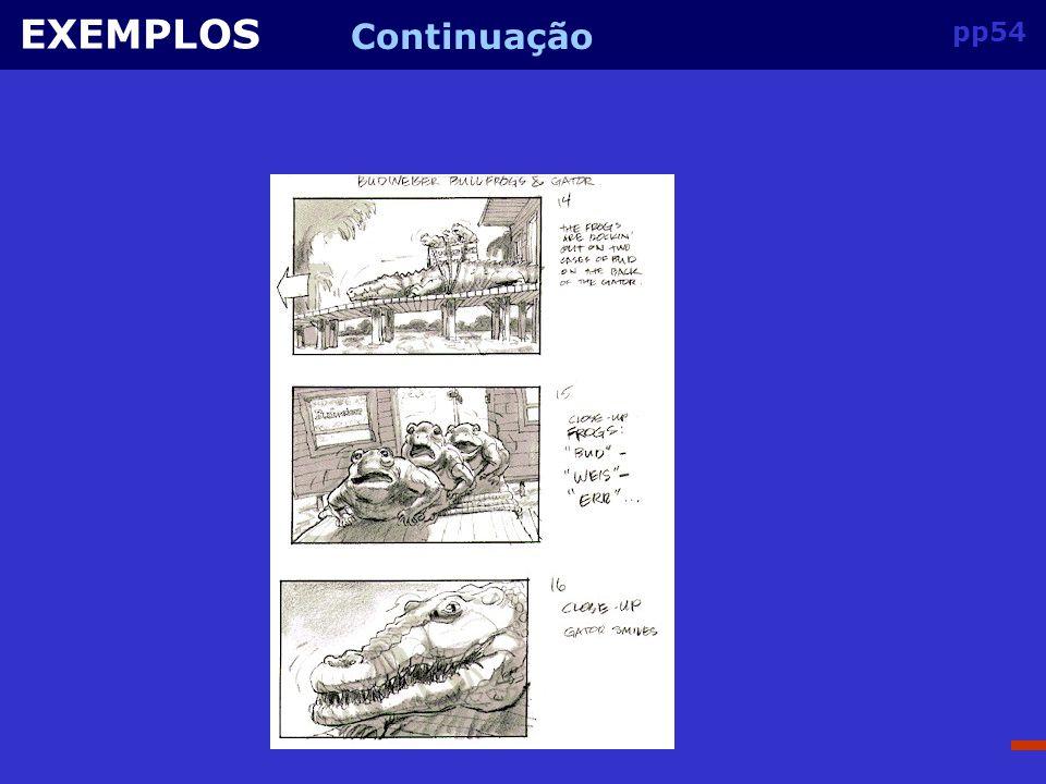 EXEMPLOS Continuação pp54