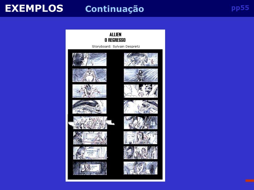 EXEMPLOS Continuação pp55