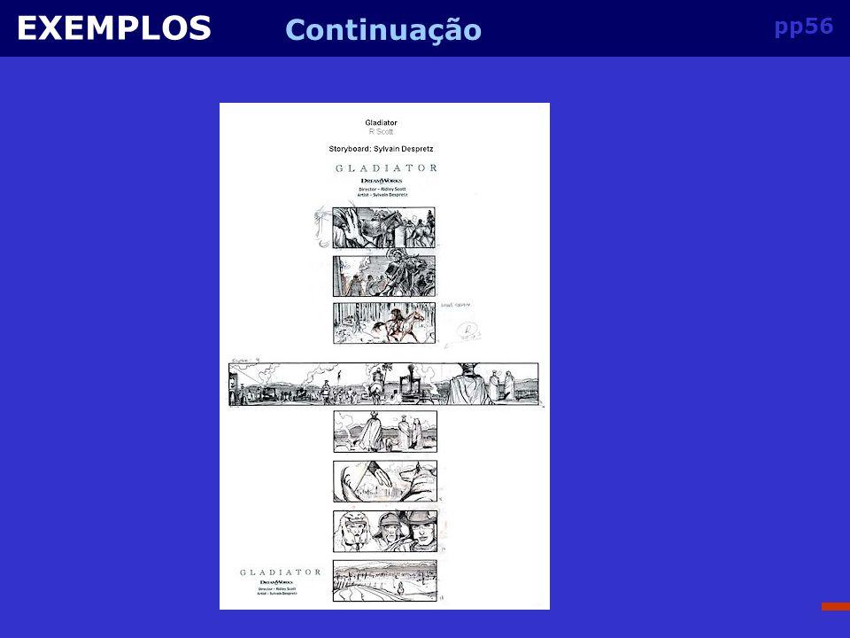 EXEMPLOS Continuação pp56