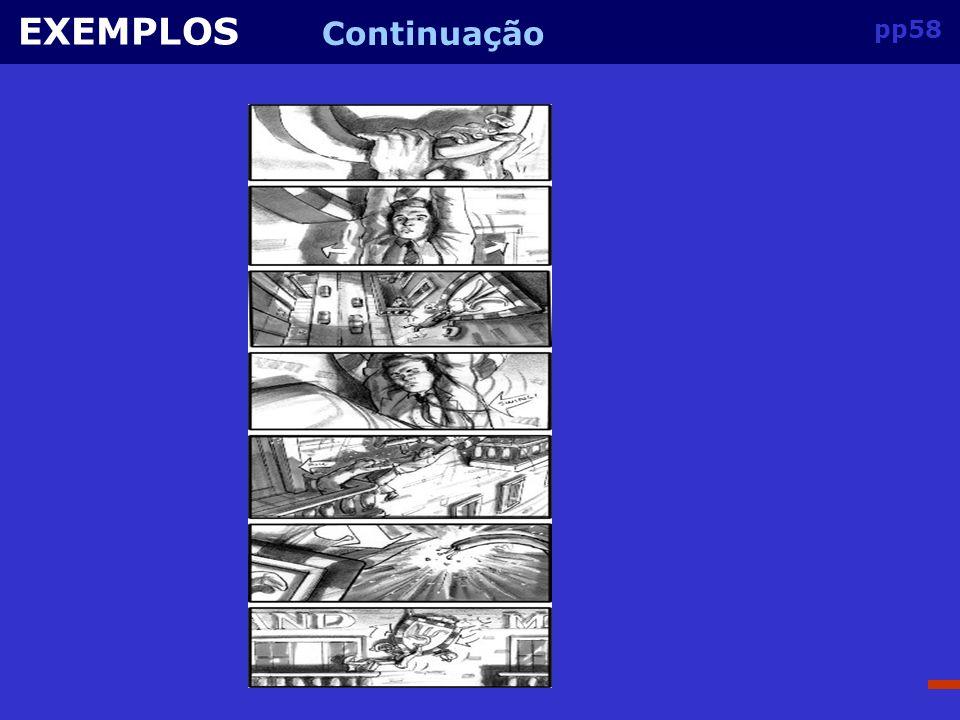 EXEMPLOS Continuação pp58