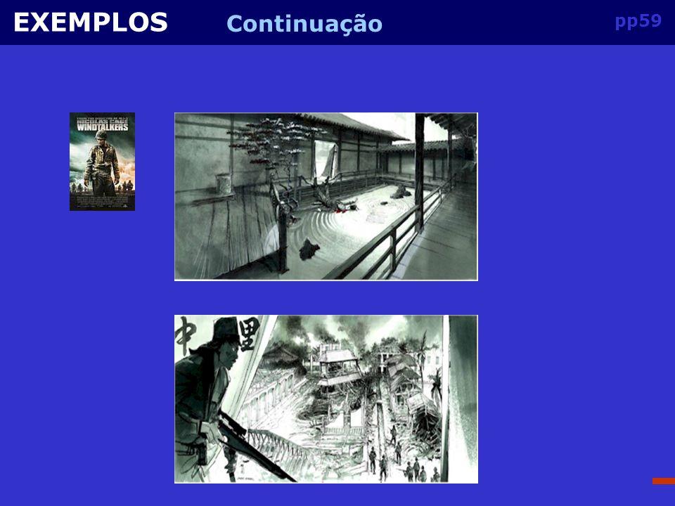 EXEMPLOS Continuação pp59