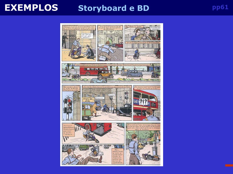 EXEMPLOS Storyboard e BD pp61