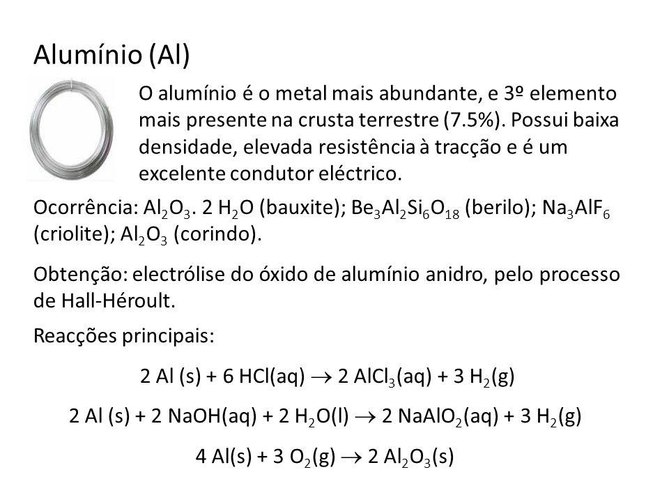 Alumínio (Al)