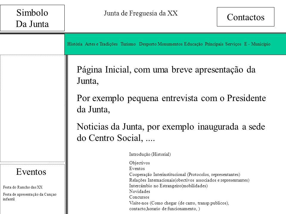 Junta de Freguesia da XX