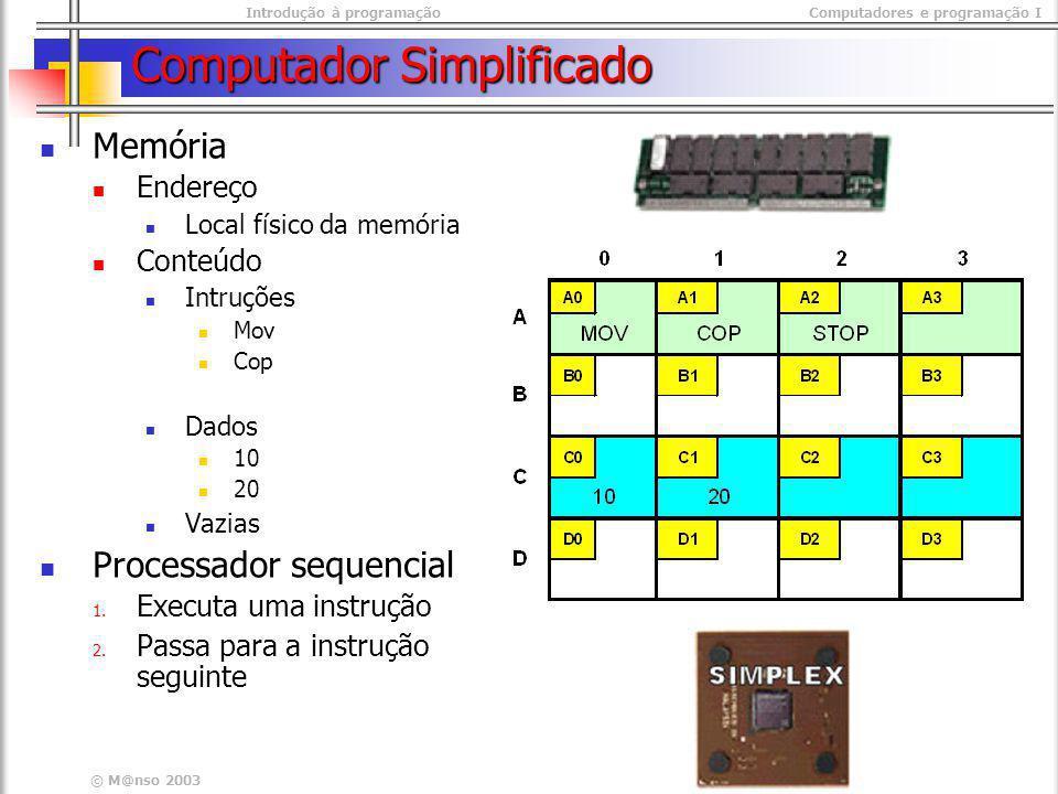 Computador Simplificado